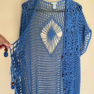 Beaded Knitted Cardigan